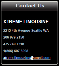 Lynnwood & Puyallup Washington Limo
